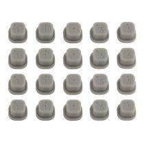 Inserts plastiques pour cale de pincement B6/B6D  -   Team Associated - AS92014