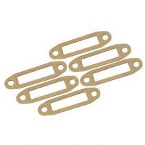Joints dechappement papier pour sortie laterale moteur 10-15 (6pcs.)