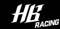 Kit de convertion D817 V1 vers V2 - HBD817V1V2 - Pièce détachée HB Racing