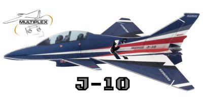 KIT J-10 INDOOR EDITION - MULTIPLEX