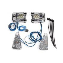 KIT PHARES AVANT/ARRIERE A LED- NECESSITE TRX8028 - TRAXXAS TRX8027