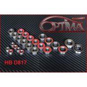 Kit Roulements Étanche OPTIMA Complet pour HB D817 (24 pcs)