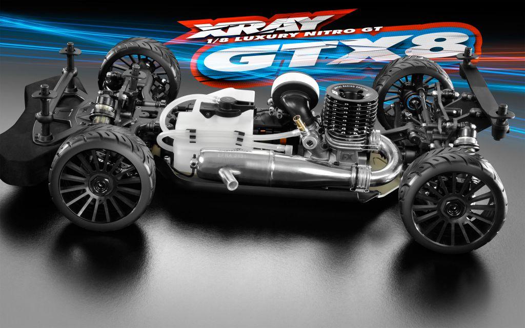 Kit XRAY GTX8 1/8 GT - 2017