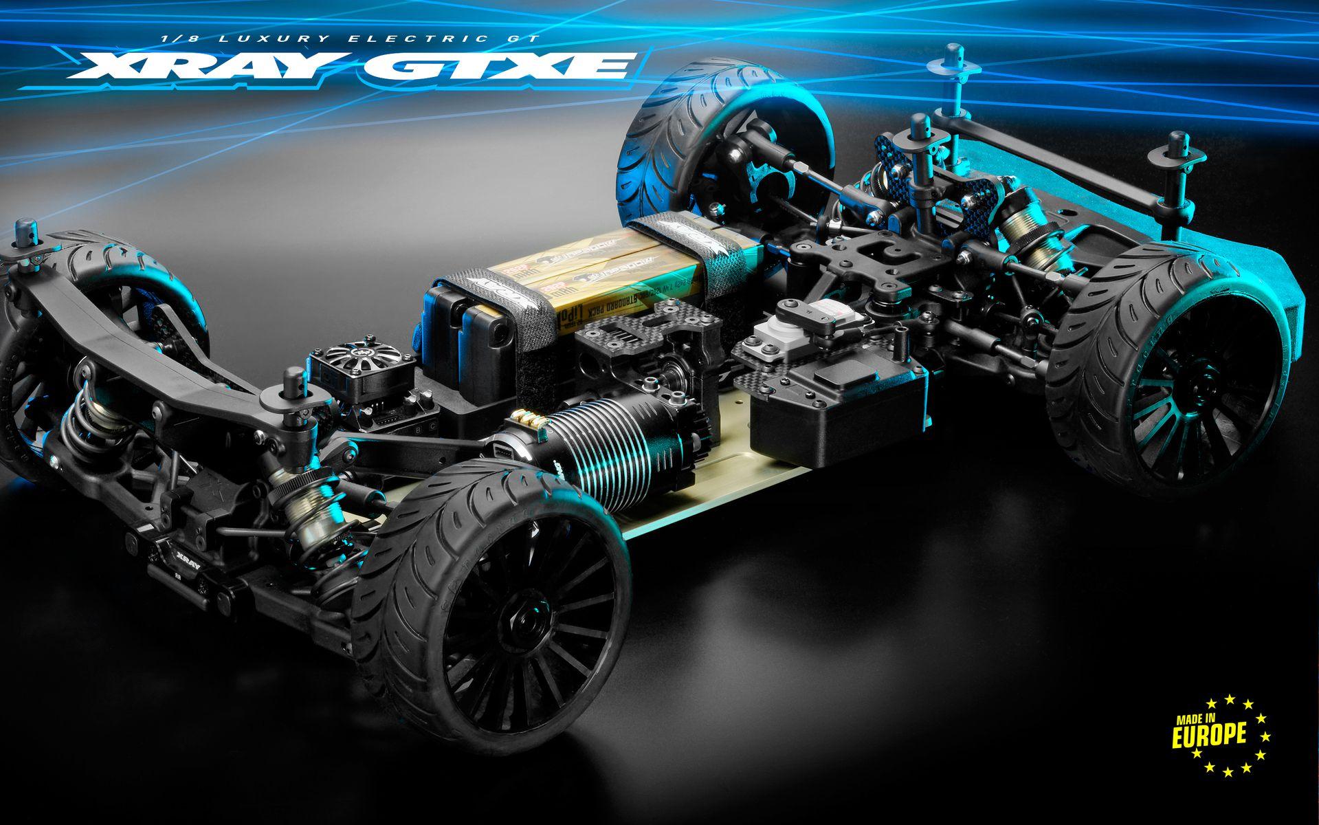 Kit Xray GTXE.3 Piste 1/8 GT Electrique - XRAY - 350602
