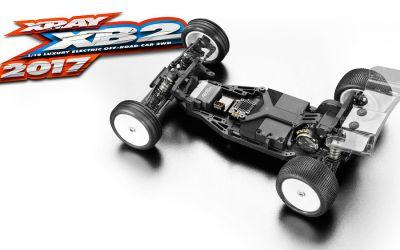 Kit XRAY XB2 TT 1/10 4x2 Dirt 2017- 320003