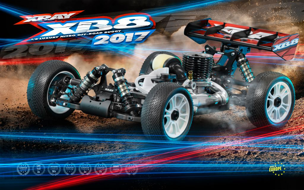 Kit XRAY XB8 TT 1/8 Th - 2017