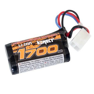 KN-LI0741700 - Batterie Konect li-ion 7.4V 1700 mA 15C TAMIYA