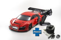 KYOSHO INFERNO GT2 RACE AUDI LMS ROUGE (KT331-PICCO.E1 DUAL-START)