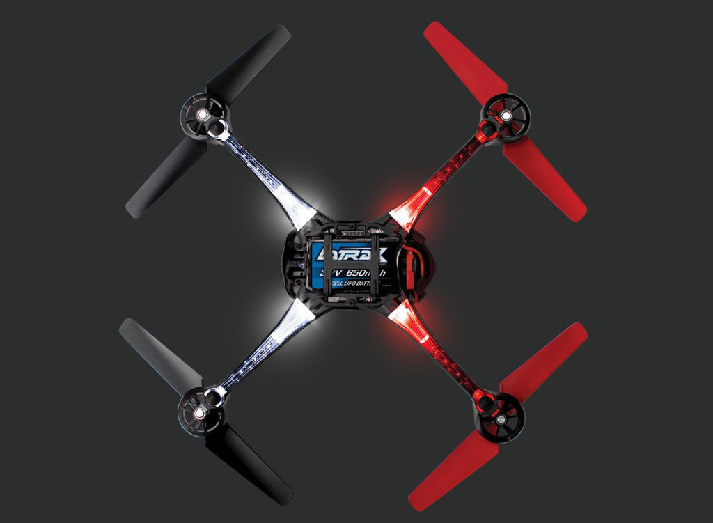 LATRAX ALIAS QUADRICOPTER - MODE 2 - TRX6608 - TRAXXAS
