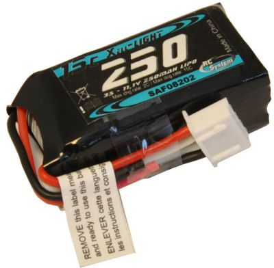 LIPO 11,1V 250MAH 3S 15-20C LIGHT