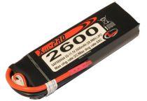 LIPO 11,1V 2600MAH 3S 55C PRO