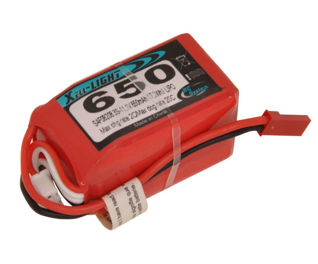 LIPO 11,1V 650MAH 3S 20C LIGHT