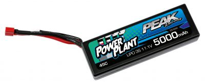 Lipo 11.1v 3S POWER PLANT PEAK 5000 Mha - 45C - Dean - PEK00553