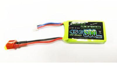 Lipo 2S 7,4v Black Lithium 500mAh 45C Deans - Z03L9050320