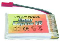 LIPO 3,7V 1300MAH - EASYCOPTER V6 /V6 LUXE/ XS METAL/ WOLF