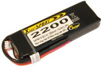LIPO 7,4V 2200MAH 2S 25C SPORT