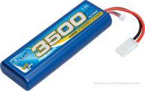 LIPO LRP  7.4V 2S 3500 25C DEAN