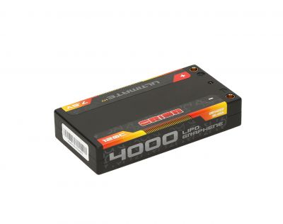 LIPO ORION ULTIMATE GRAPHENE HV 2S LIPO SHORTY LGC 4000-120C-7.6V (144g) - ORI14502
