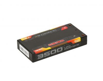 LIPO ORION ULTIMATE GRAPHENE HV 2S LIPO SHORTY ULGC 3500-120C-7.6V (129g) - ORI14501
