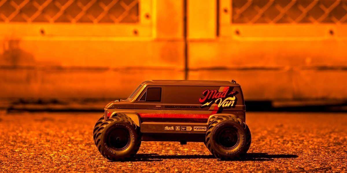 MAD VAN FAZER MK2 1:10 EP 4WD READSYET K.34412B