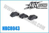 Masselottes d\'embrayages HB 3 points carbone