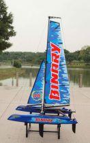 Mini Catamaran bleu RTS de JOYSWAY HOBBY - Z028807B