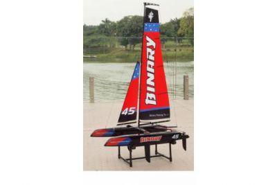 Mini Catamaran rouge RTS de JOYSWAY HOBBY - Z028807R