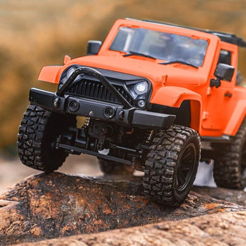 Mini Crawler 4WD Convertible   Orange & Blanc   MHD