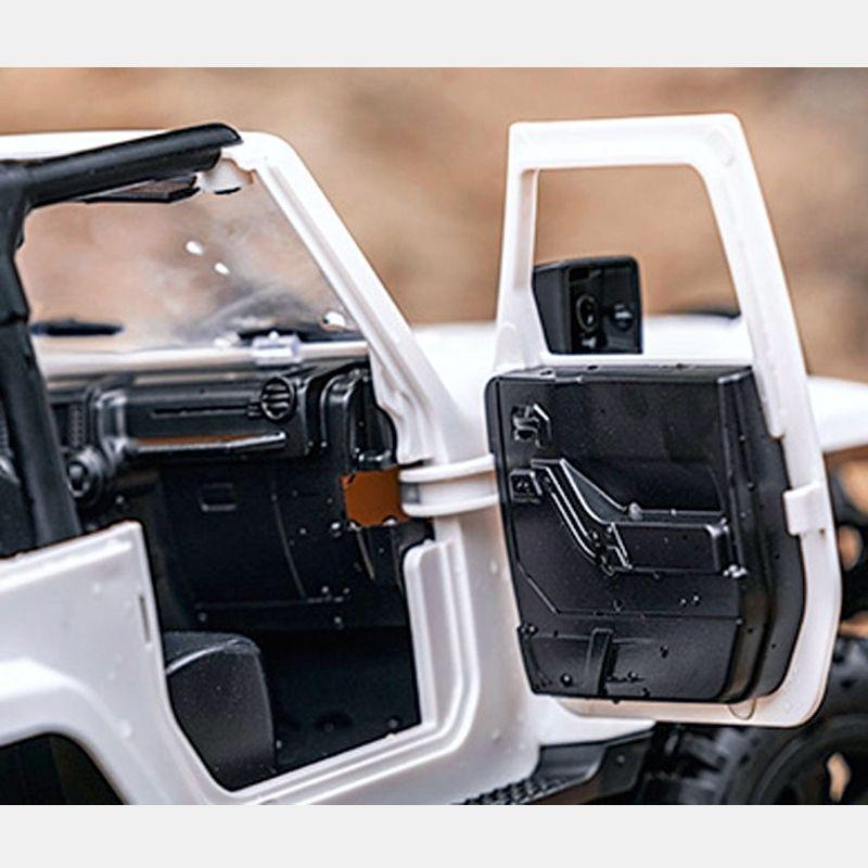 Mini Crawler 4WD Hard Top F1   Orange & Blanc   MHD