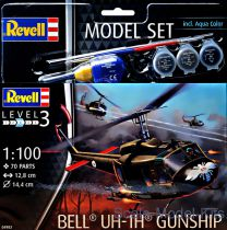 MODEL SET BELL UH-1H GUNSHIP RV64983