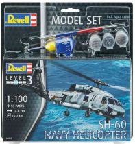 MODEL SET SH 60 NAVY HELICOPTER RV64955