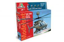 MODELL SET ITALERI OH 58 D Kiowa 71027