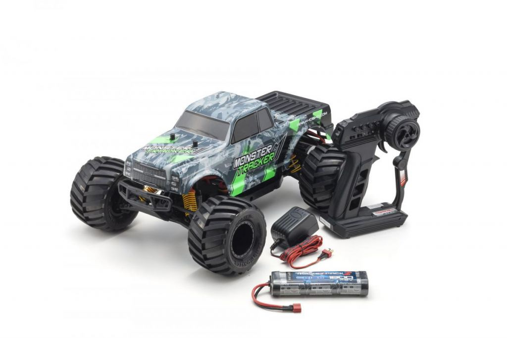 MONSTER TRACKER 1:10 EP (KT232P) - T1 VERT  READYSET