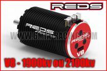 Moteur Brushless REDS V8 1900KV