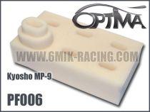 Mousses de filtre à air 6MIK blanche (6 pcs) pour Kyosho MP9  VRAC