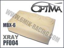 Mousses de filtre à air 6MIK blanche (6 pcs) pour MUGEN / XRAY
