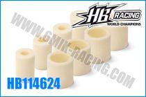 Mousses de filtre à air HB (4 paires)