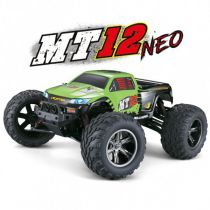 MT12 NEO | Monster Truck 1/12 | Orange et Vert | Funtek - FTK-MT12-NEO