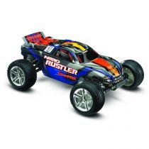 NITRO RUSTLER: 1/10-SCALE NITRO-POWERED 2WD STADIUM TRUCK