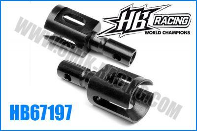 Noix de diffs avt / arr pour HB 817 (2)