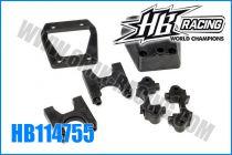 Paliers de diff central HB 817 (kit)