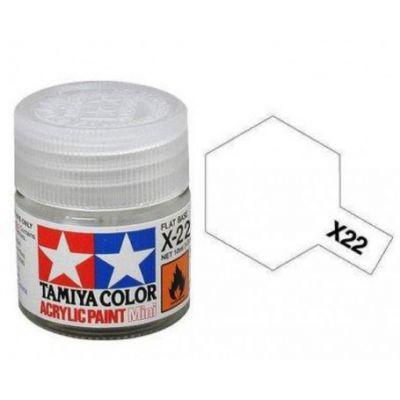 Peinture acrylique Tamiya - 10 ml - vernis brillant - X-22  - 81522