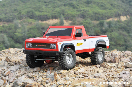 PG4R - CROSSRC - Crawling kit - PG4R 1/10 4x4 Pick up avec carrosserie à peindre