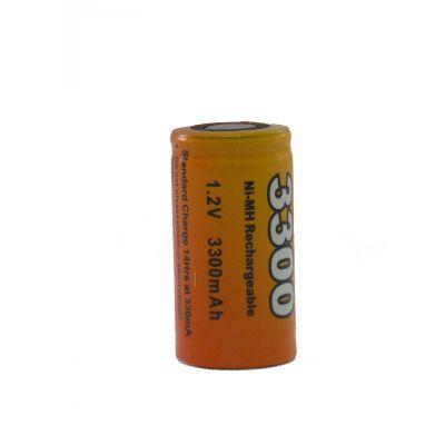 Pile/accu nimh pour chauffe bougie 3300 mha 23x43mm 43300