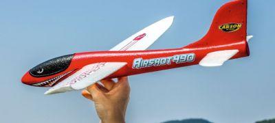 Planeur Lancé main Carson Airshot 490 Rouge 550504013