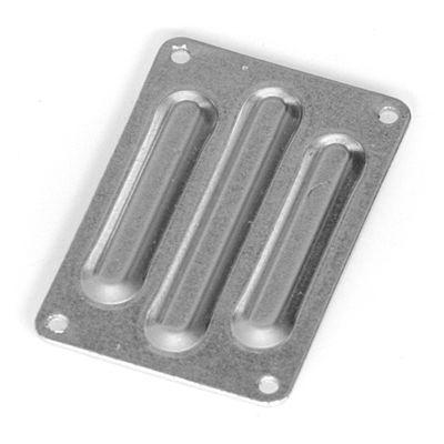 Plaque aluminium arriere DB8SL