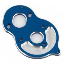 Plaque moteur aluminium bleue (cellule standard) B6.1 - AS91794 - Pièce détachée Team Associated - 91794