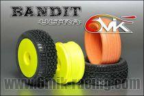 Pneu BANDIT 15/25° + Jante + Insert Ultra non collé (la paire) - TKU81525 - Pièces et Options 6Mik