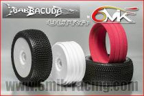 Pneu BARRACUDA CS + Jante + Insert Ultra non collé (la paire) - TKU14CS - Pièces et Options 6Mik