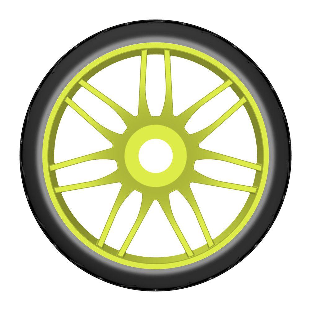 Pneu Rally game GRP 1/8 - S3 Soft - Jaune (2) - GTY01-S3